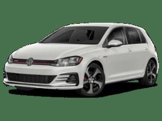 2019 VW Golf GTI angled