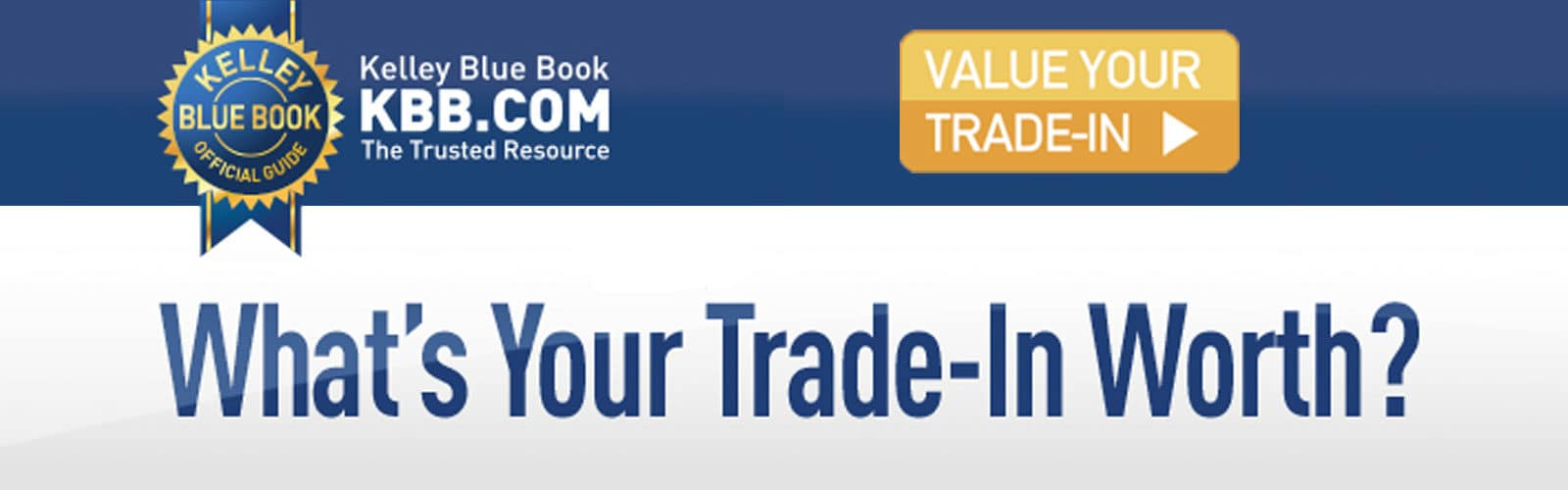 KBB What's your trade-in worth?