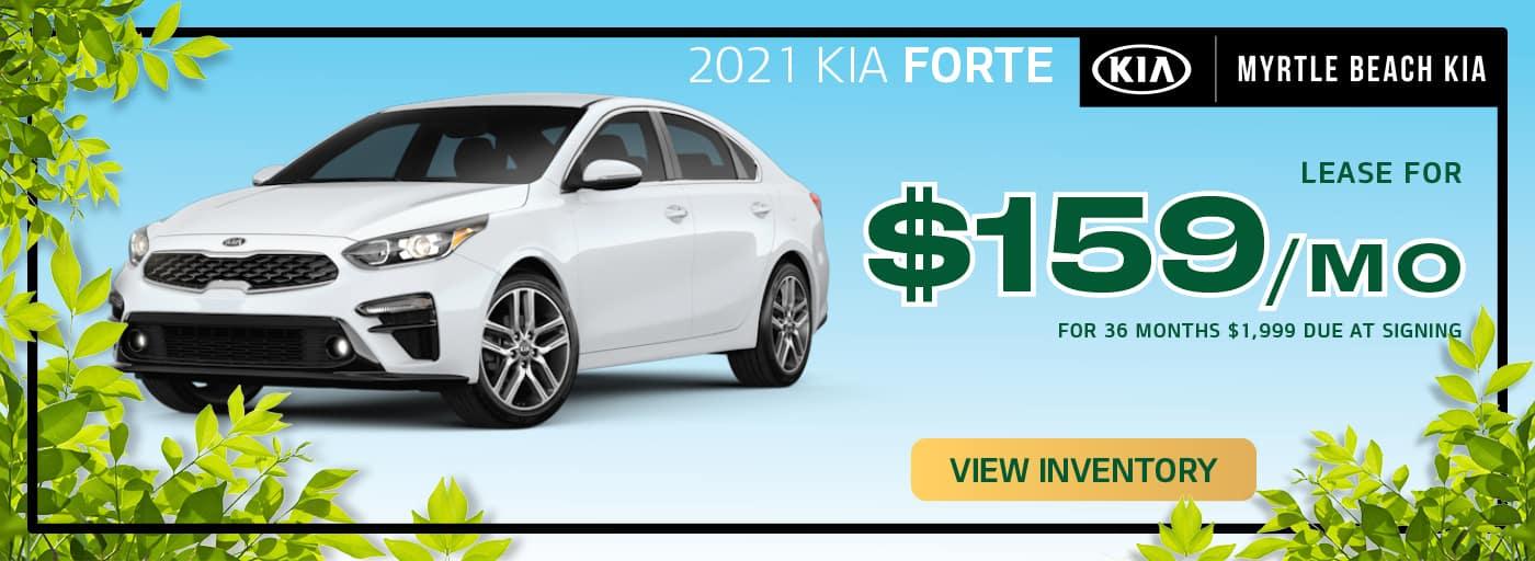 Kia Forte 159 a month.