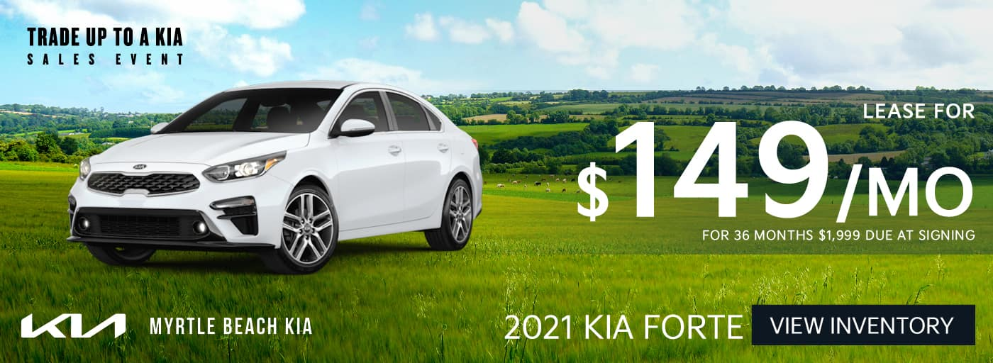 2021 Forte lease banner