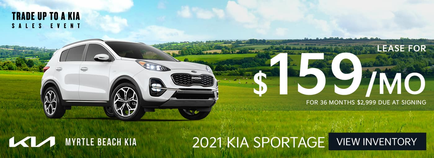 2021 Sportage lease banner