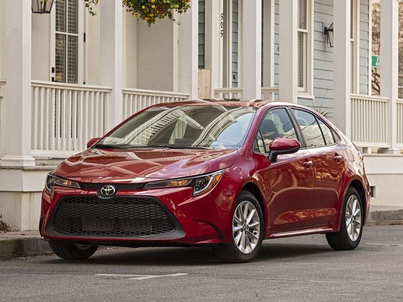 2021 Toyota Corolla styling