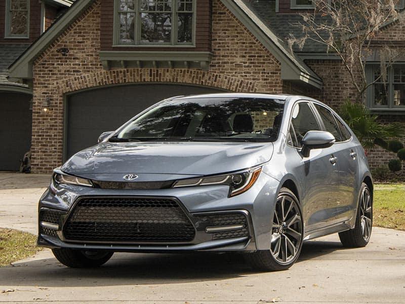 2021 Toyota Corolla trim levels