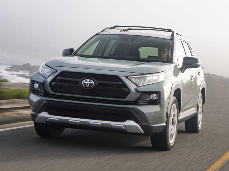 2021 Toyota RAV4 trim levels