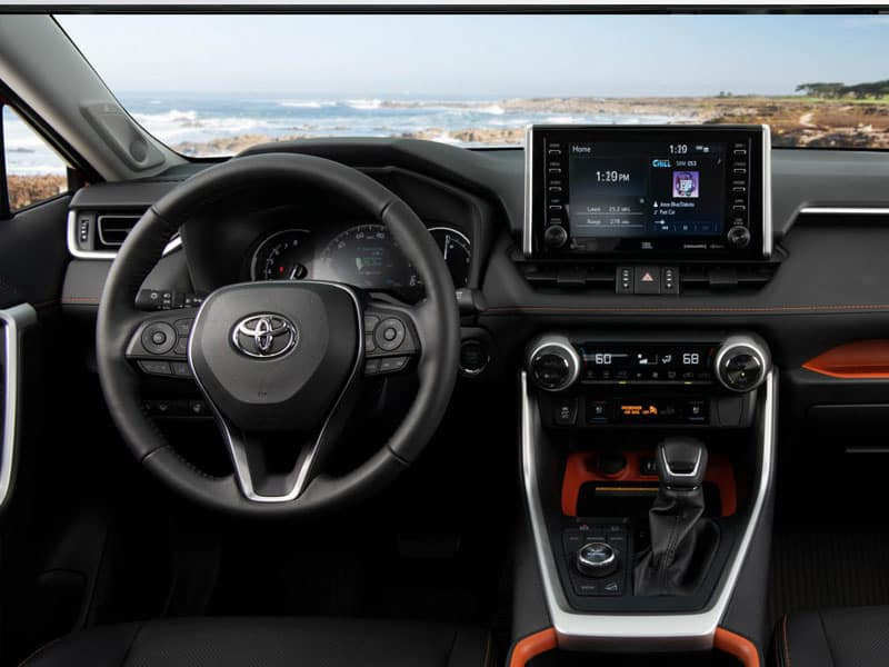 2020 Toyota RAV4 trims and interior features