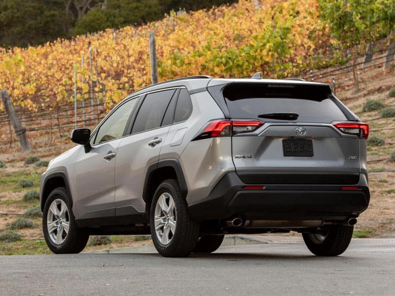 2021 Toyota RAV4 exterior styling