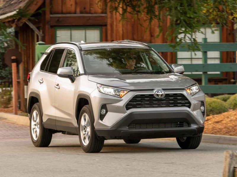 (2020 Toyota RAV4 comfort, convenience and technology