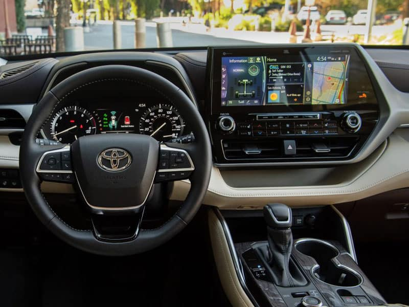2021 Toyota Highlander Features and Equipment