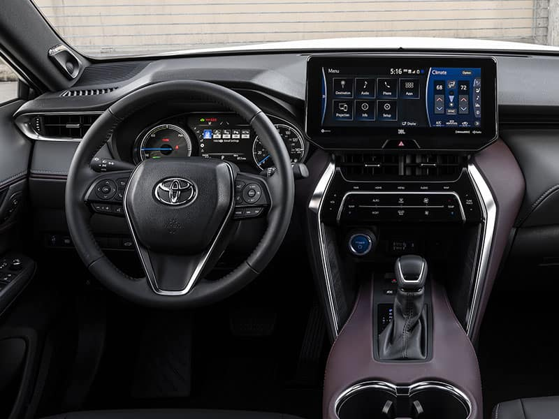 2021 Toyota Venza Features and Equipment
