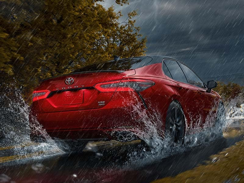 2021 Toyota Camry Powertrains and Economy