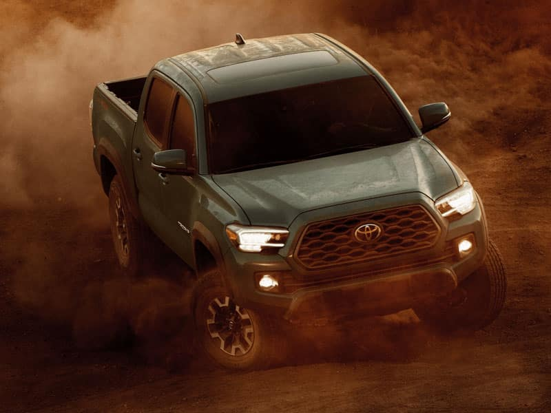 2021 Toyota Tacoma Powertrains