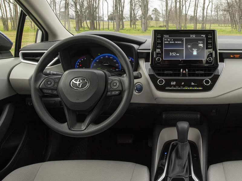 2021 Toyota Corolla Hybrid Features and Equipment