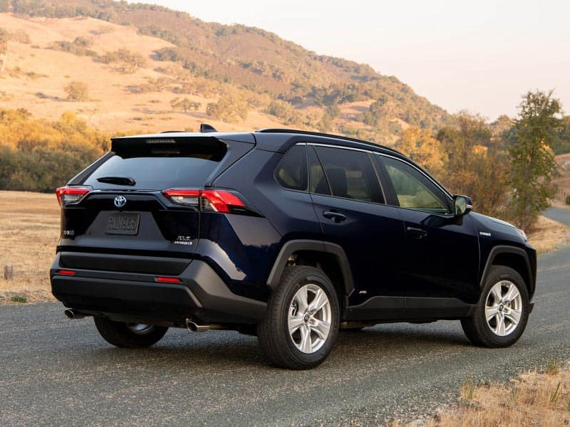 2021 Toyota RAV4 Hybrid Powertrain and Economy