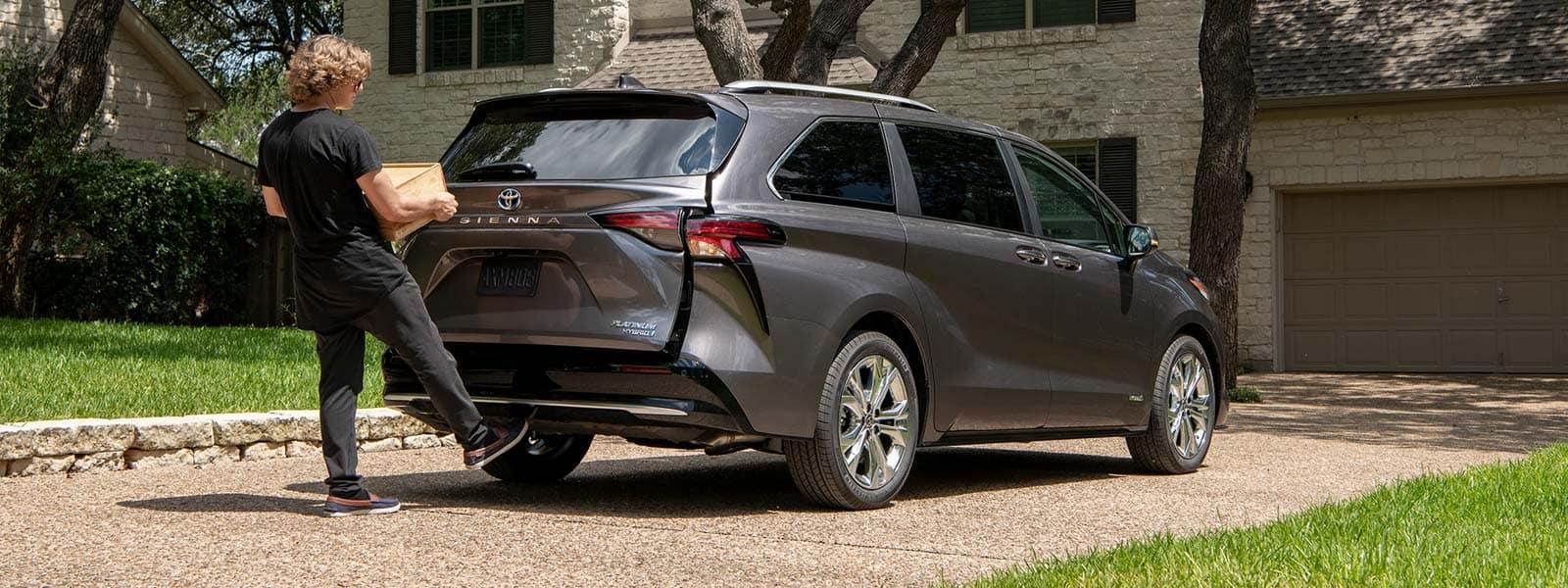 Test drive Toyota Sienna in Stanleytown, VA