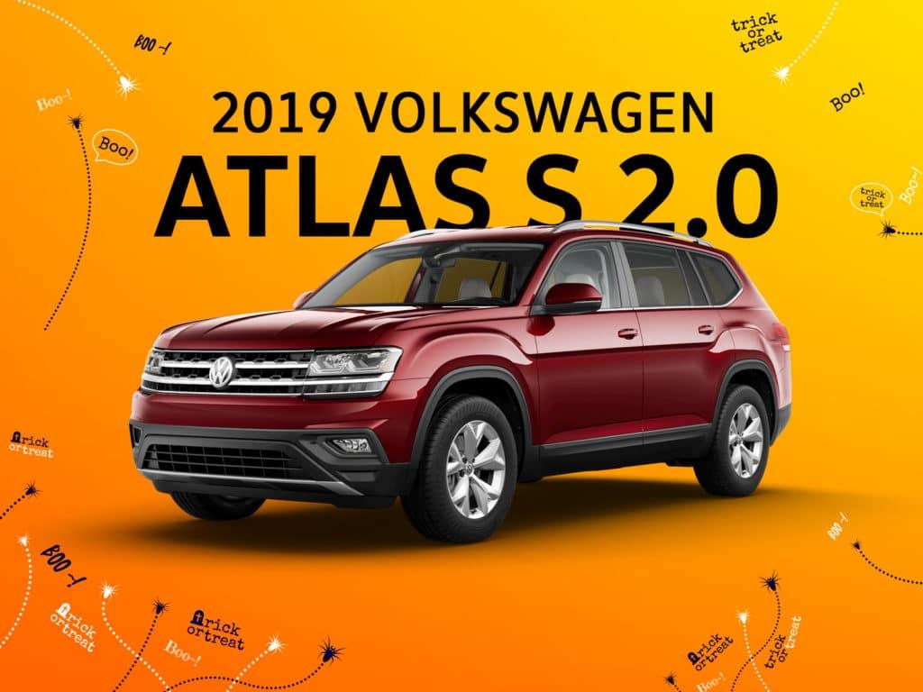New 2019 Volkswagen Atlas S