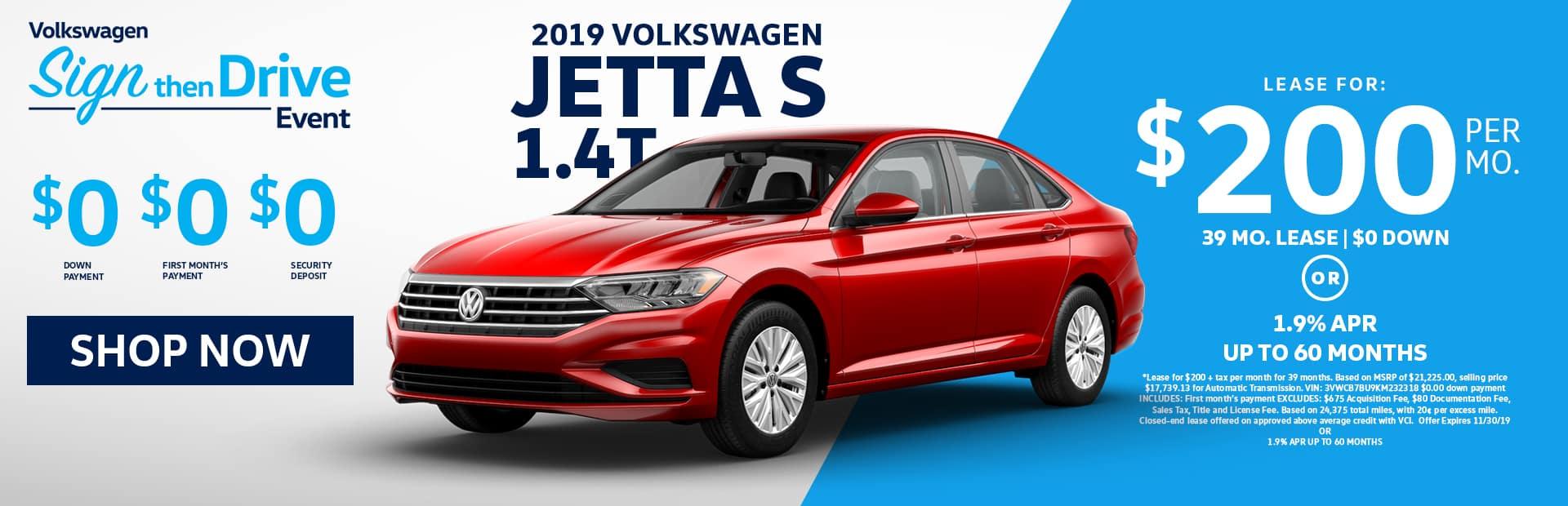 New VW Jetta lease offer in glendale near los angeles Ca