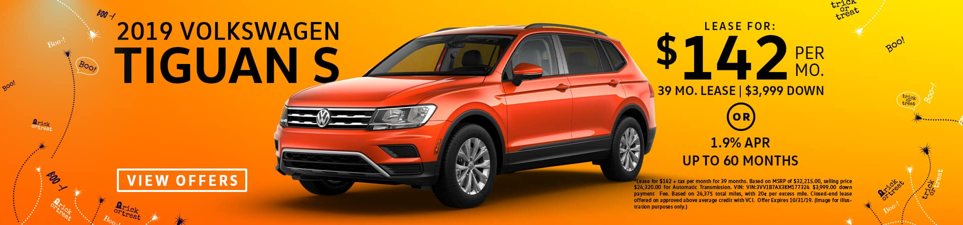 vw tiguan lease special for sale in glendale californica