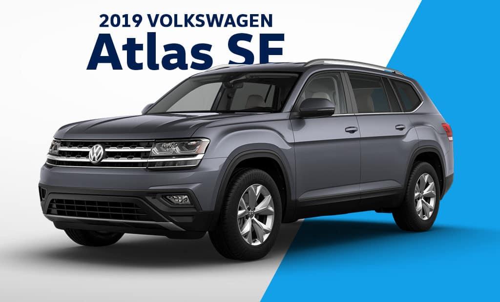 New 2019 Volkswagen Atlas SE