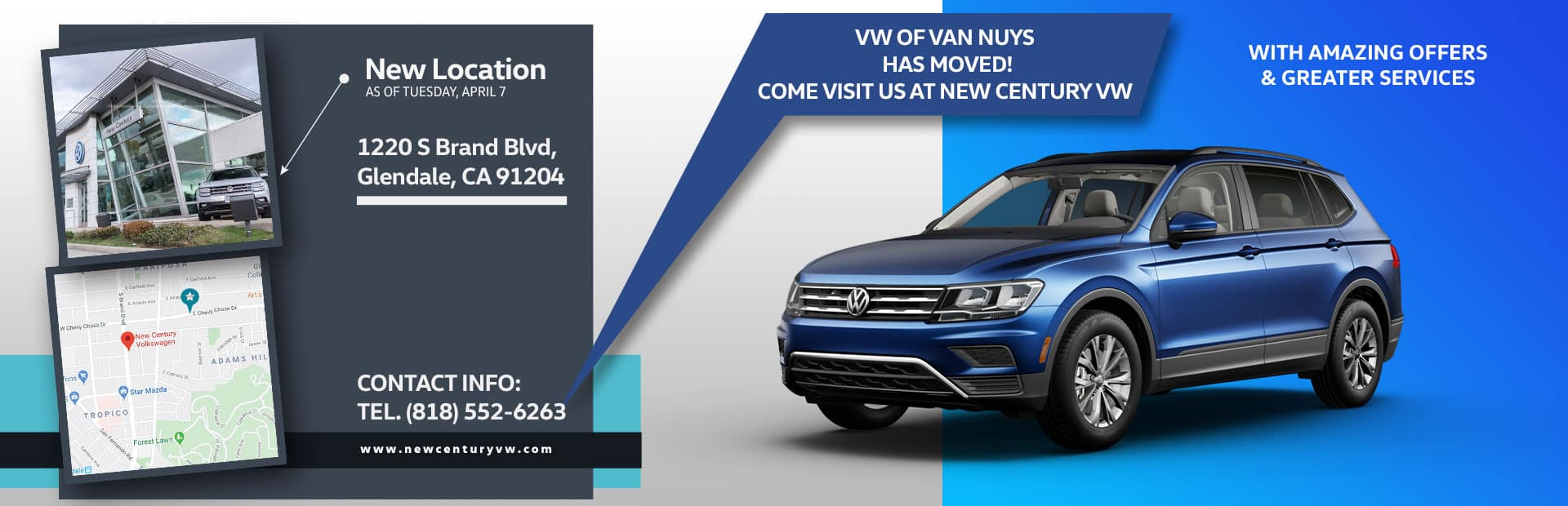 vw of van nuys is now moved to New Century VW