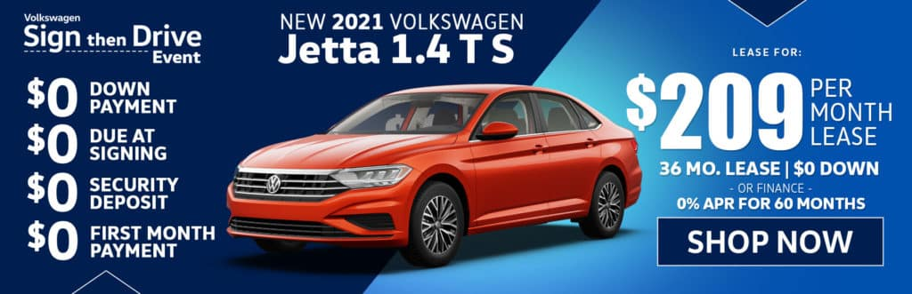New 2021 Volkswagen Jetta S S Auto