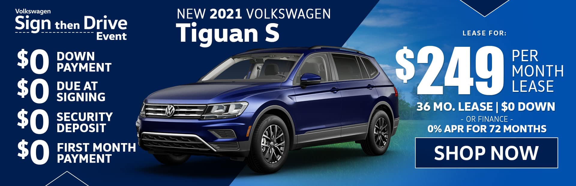 new vw tiguan s lease special in glendale california and los angeles california