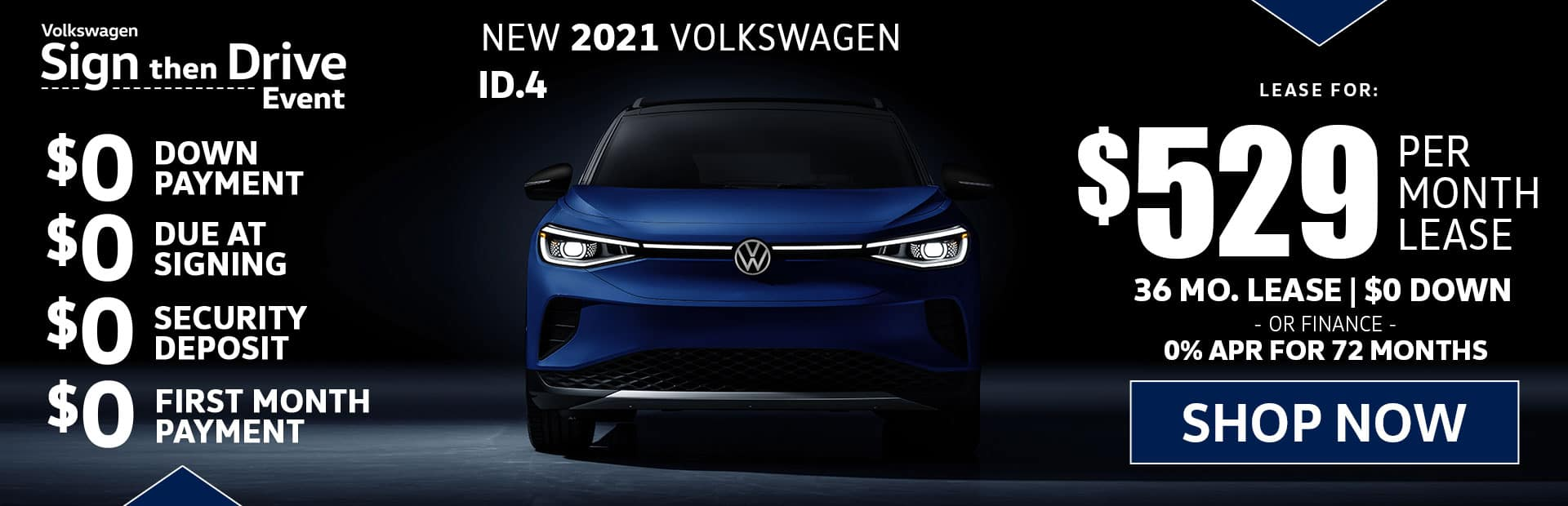 new vw id 4 lease special in los angeles
