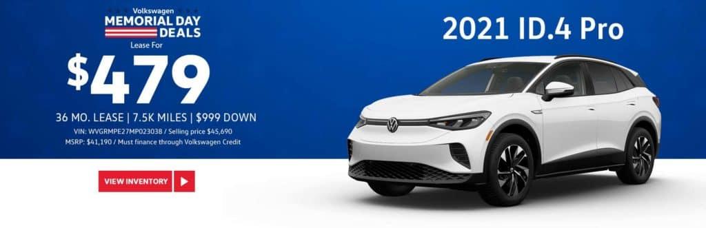 New 2021 Volkswagen ID.4 Pro