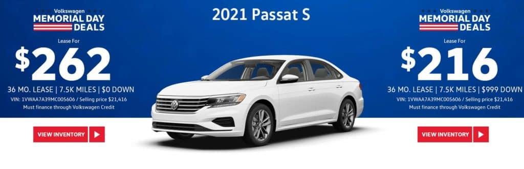 New 2021 Volkswagen Passat S