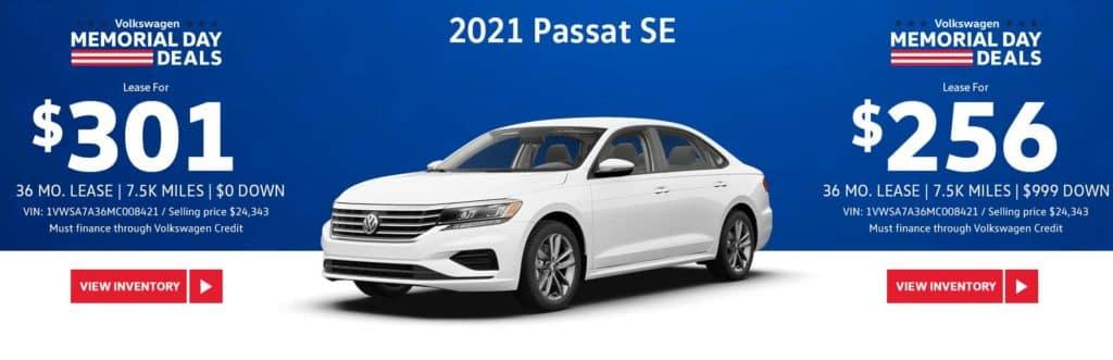 New 2021 Volkswagen Passat SE