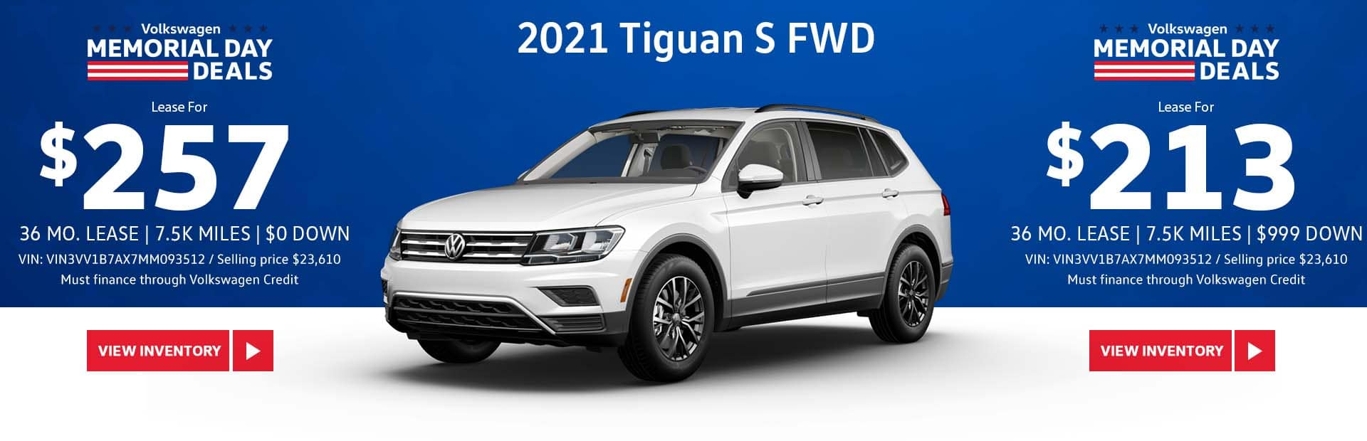 May Tiguan S Lease Offer Slide-Update