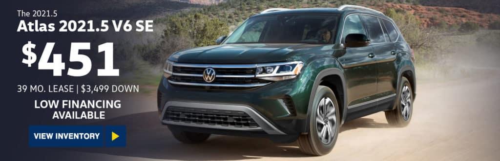 New 2021 Volkswagen Atlas 2021.5 3.6L V6 SE w/Technology 4MOTION