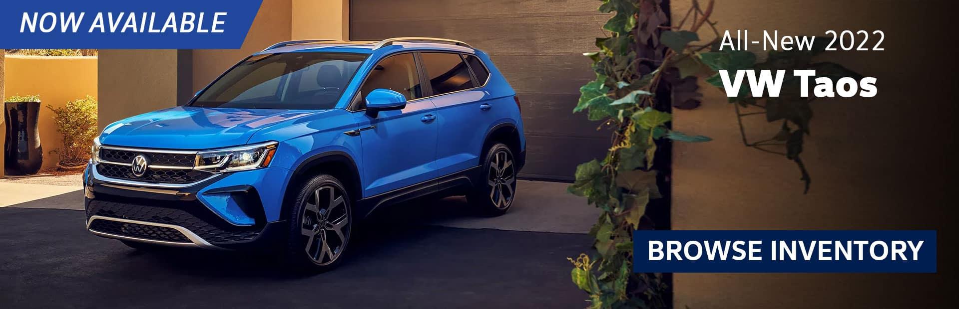 New 2022 Volkswagen Taos For Sale in Glendale california los angeles