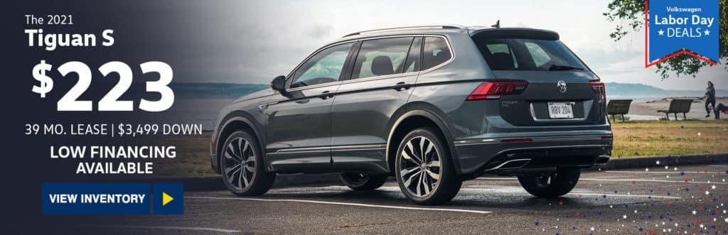 New 2021 Volkswagen Tiguan 2.0T S FWD
