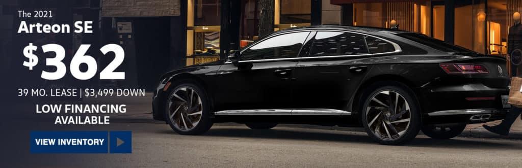 New 2021 Volkswagen Arteon SE FWD