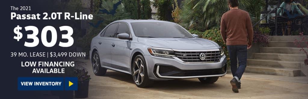 New 2021 Volkswagen Passat 2.0T R-Line Auto