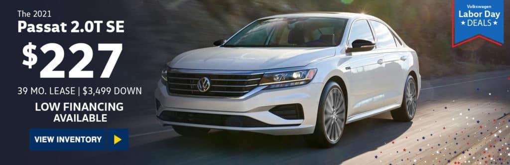 New 2021 Volkswagen Passat 2.0T SE
