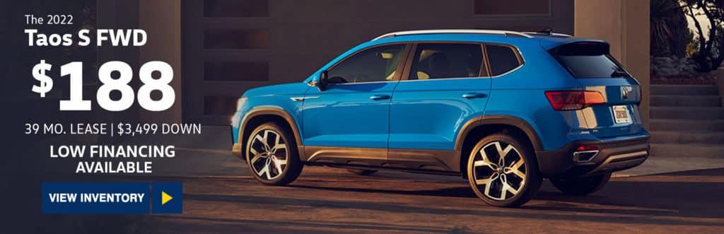 New 2022 Volkswagen Tiguan 2.0T S FWD