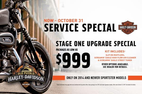 October Service Special