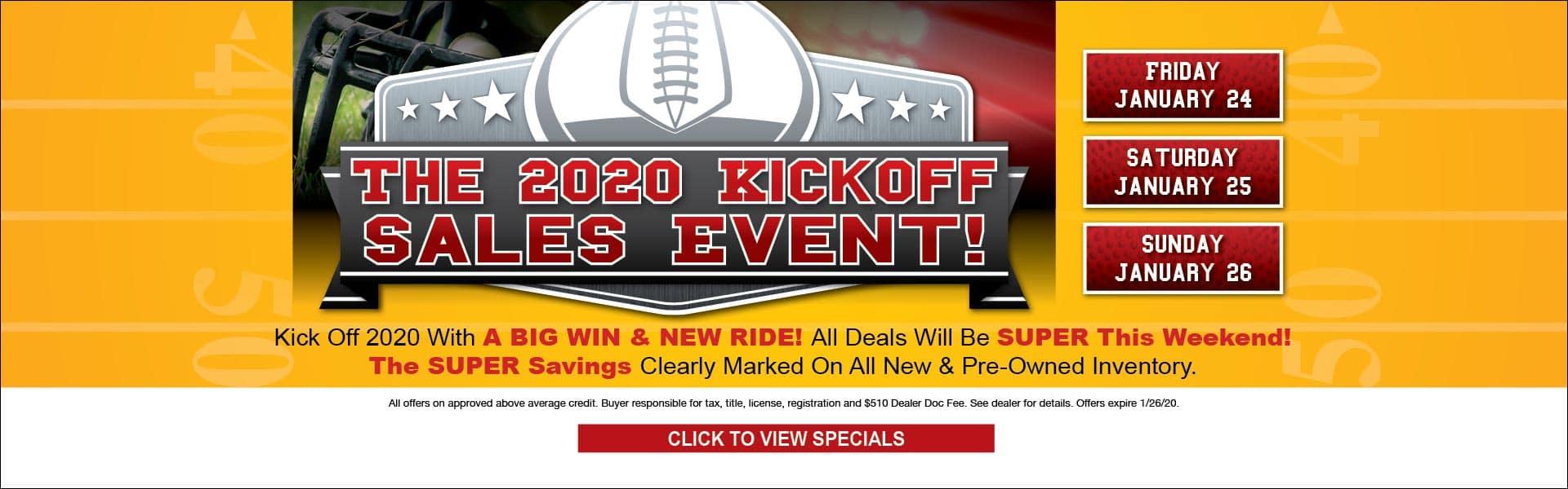 Sales Event - 2020 Kick off