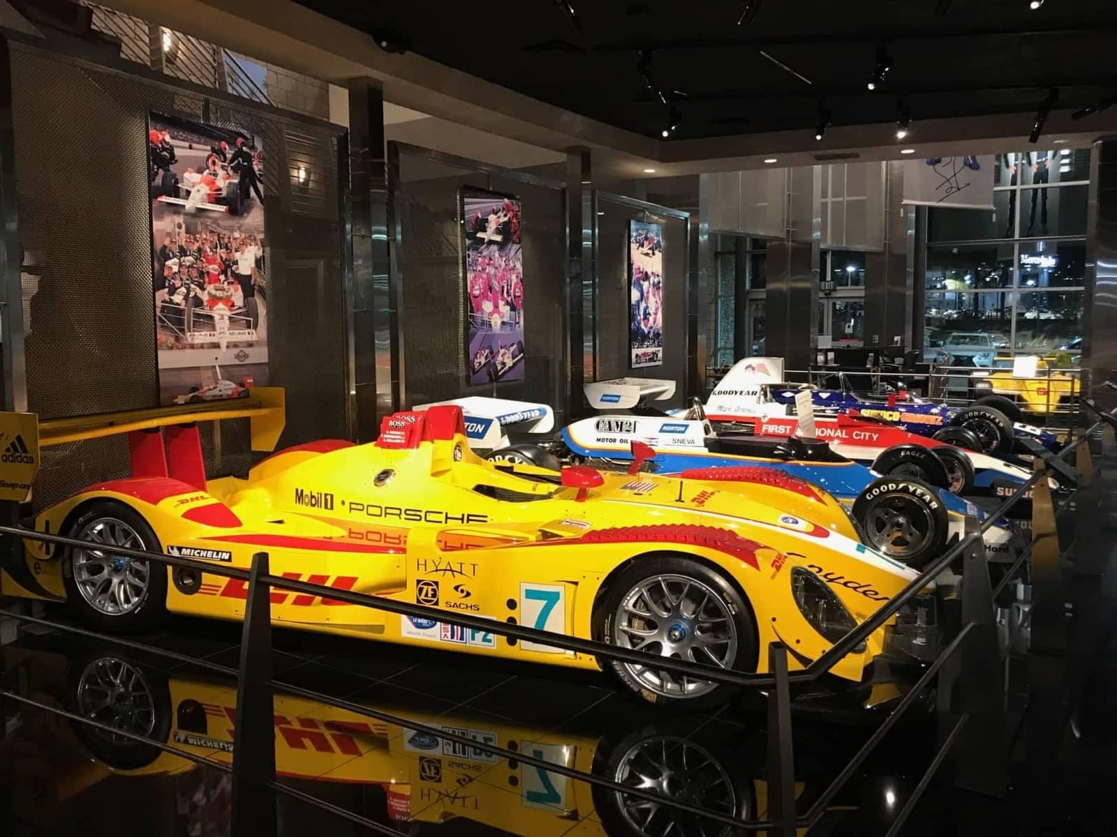 Museum Racing Cars