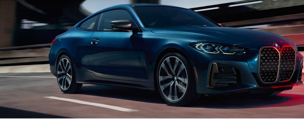 Metallic Blue BMW 4 Series