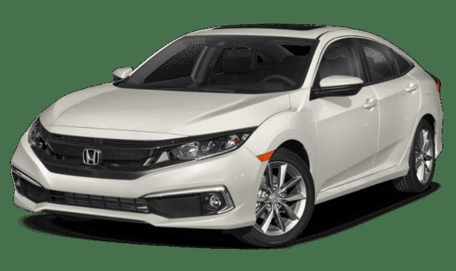 White 2020 Honda Civic LX Hatch