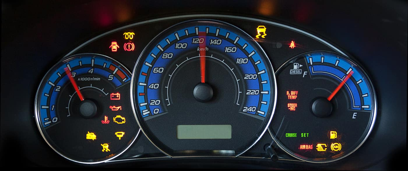 warning lights dashboard