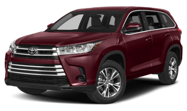 2019 Toyota Red Highlander