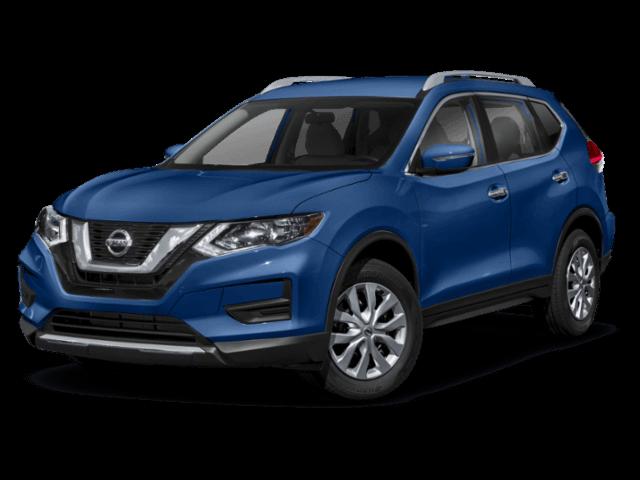 blue 2019 Nissan Rogue