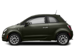 Side view of the FIAT 500