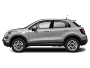 Side view of the FIAT 500X