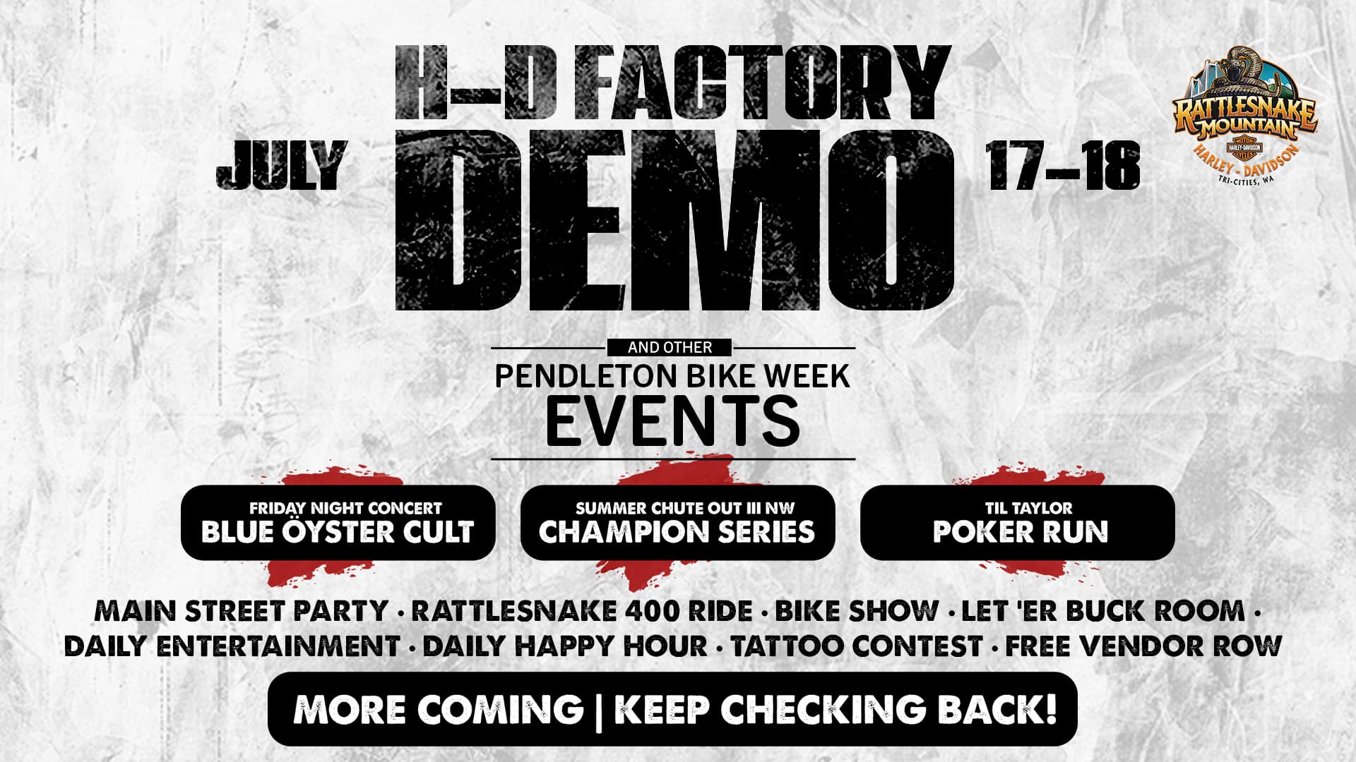 Pendleton Bike Week