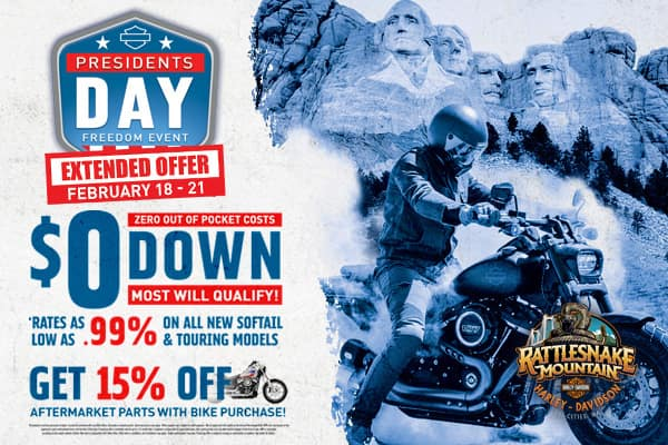 Zero out of pocket costs, zero down, most will qualify! Fresh pre-owned selection. Blowout sale on all pre-owned motorcycles!