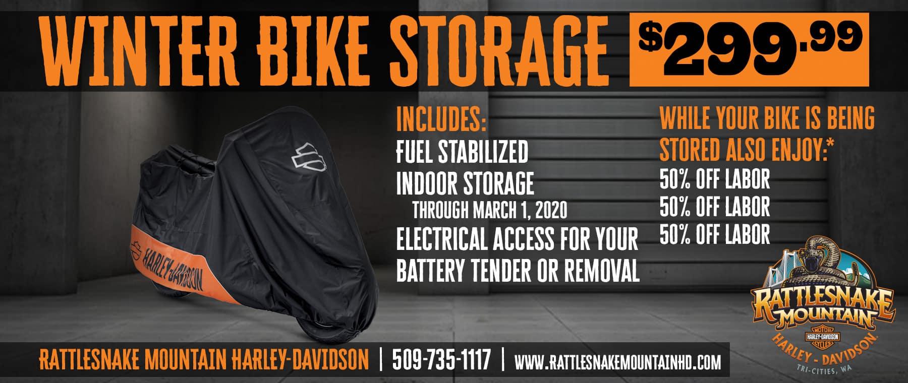Winter Storage!